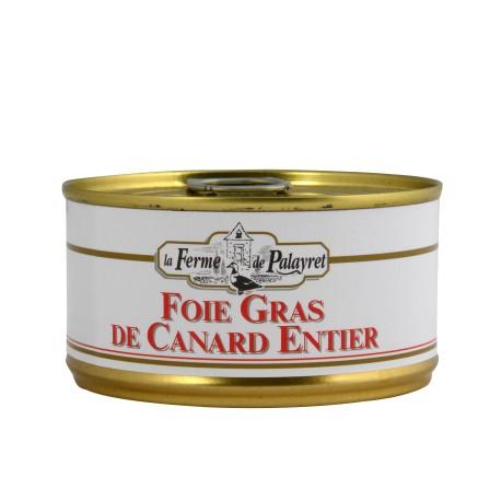 Foie gras de canard entier en boîte