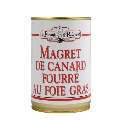 Magret fourré 20% foie gras